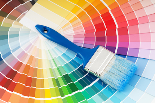 Paint Color Wheel - Fine Interiors Las Vegas